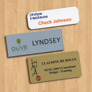 design a name badge