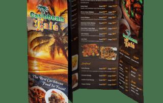 Caribbean Cafe Menu | Trifold Menu | MMP Longwood
