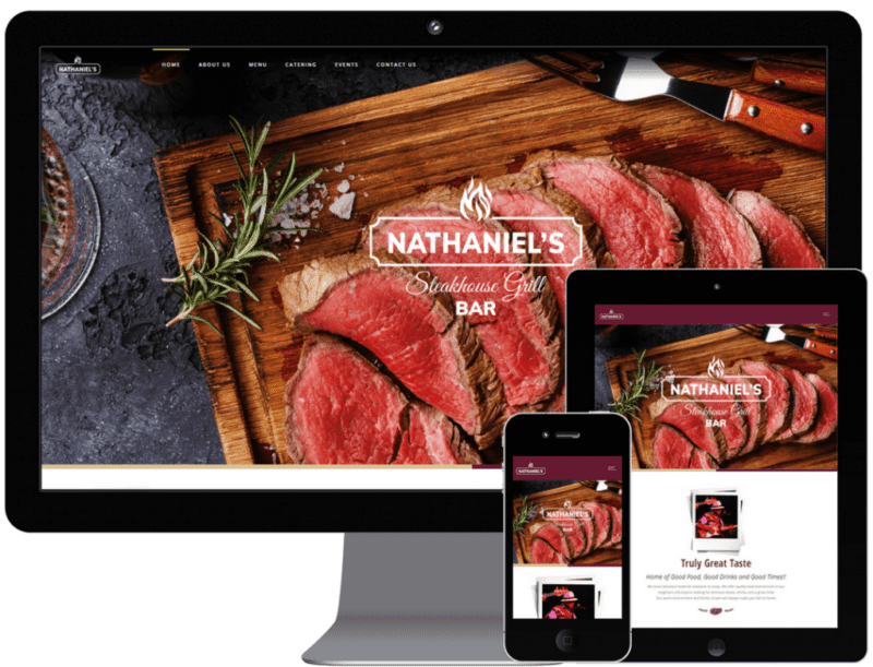 Nathaniels Website | Web Design Case Study | MMP Longwood