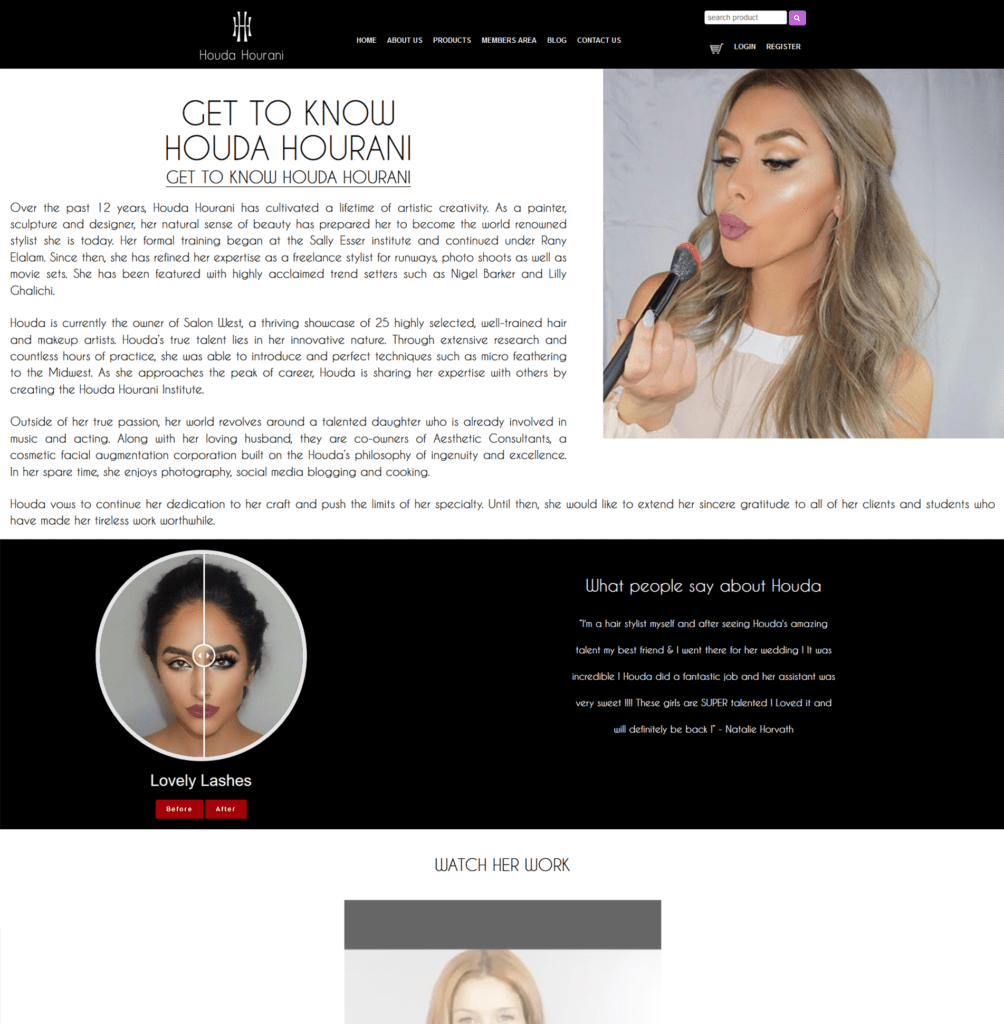 Houda Website | MMP Longwood