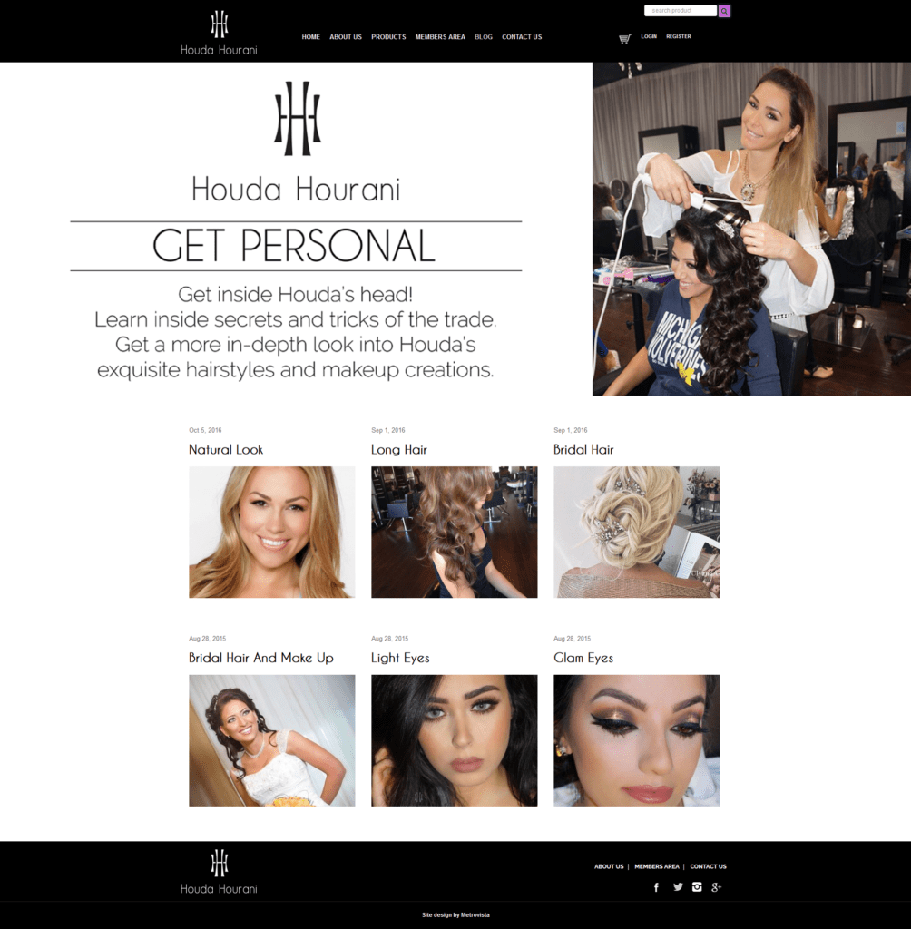 Houda Blog | Web Design | MMP Longwood