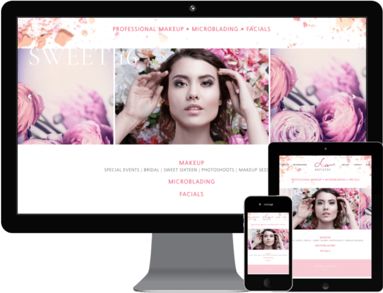 Liv Artistry Web | CAse Study | Minuteman Press Longwood