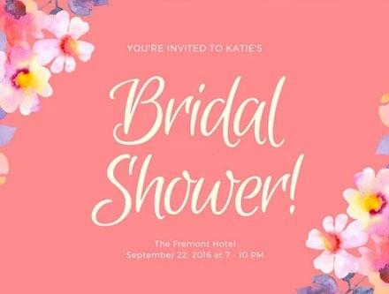 Bridal Shower Card | MMP Longwood
