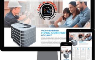 Care N Comfort Website Portfolio | MMP Longwood