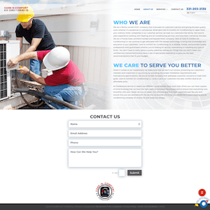 Website Design Portfolio | MMP Longwood