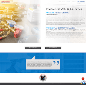 CNC Website | Web Design | MMP Longwood